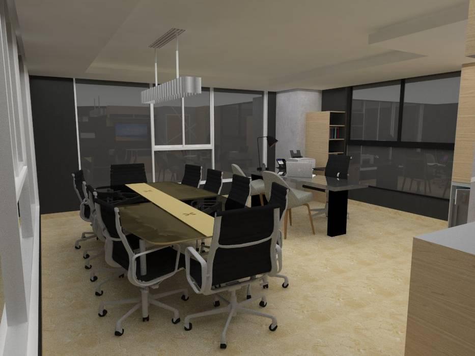 Sala de Reuniones de MAS ARQUITECTURA1 - Arq. Marynes Salas Moderno