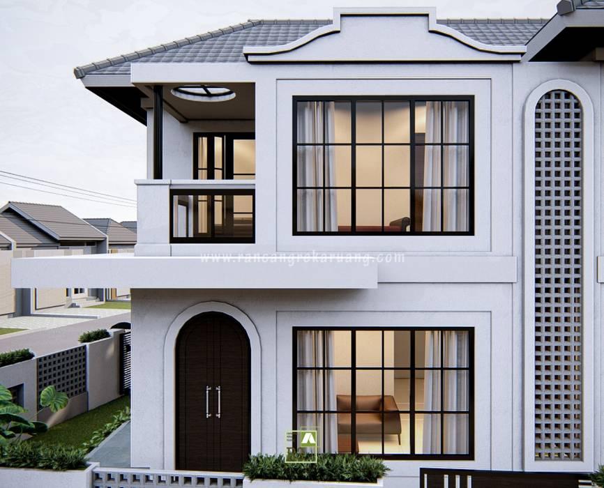 GOES HOUSE - Bapak Bagus Nugroho - Yogyakarta Oleh Rancang Reka Ruang Mediteran Beton