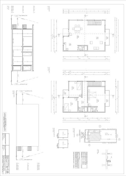 arquitecto calculista utfsm Dormitorios de estilo industrial de Arquitecto Región de Valparaíso Industrial