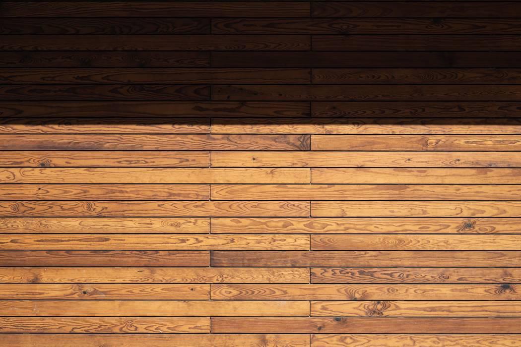 Revestimento em madeira Paredes e pisos minimalistas por goodmood - Soluções de Habitação Minimalista Madeira Acabamento em madeira