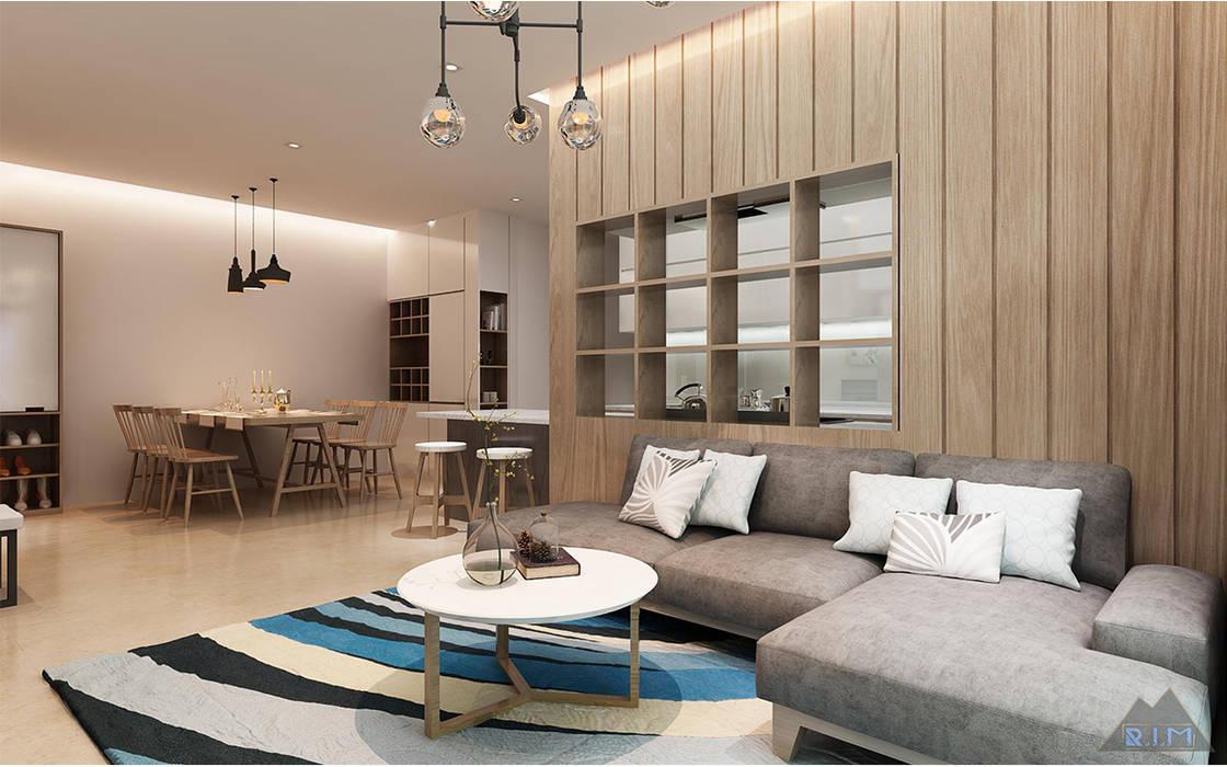 Công ty trang trí nội thất RIM Decor Modern Living Room