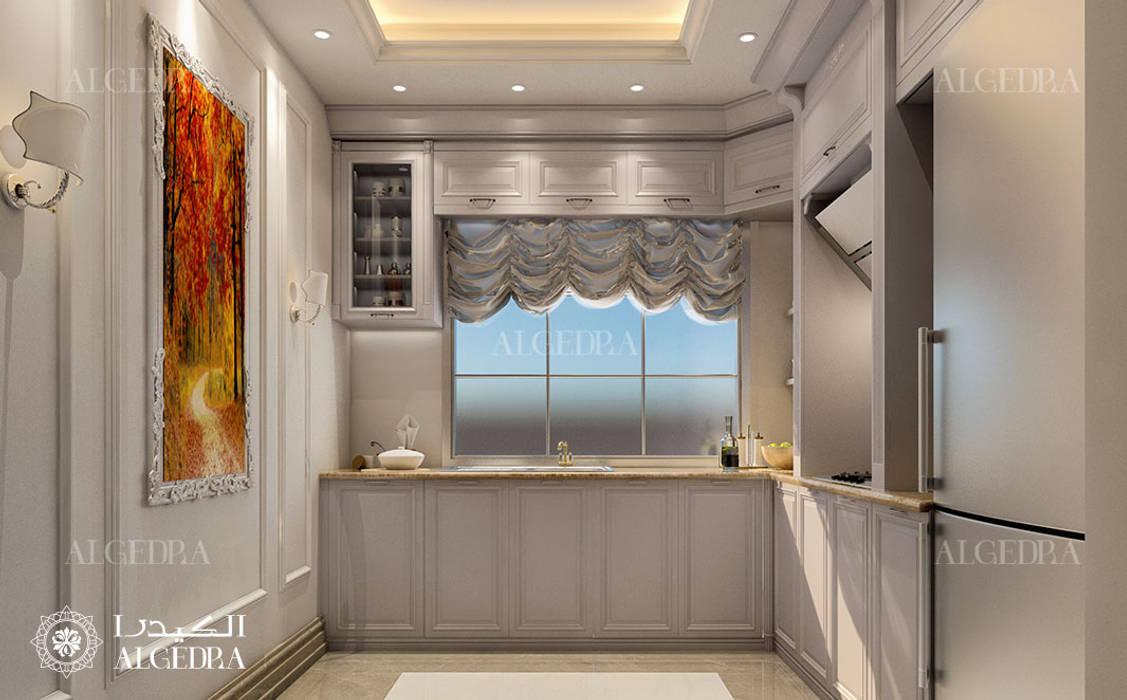 Pantry design in luxury villa by Algedra Interior Design Classic