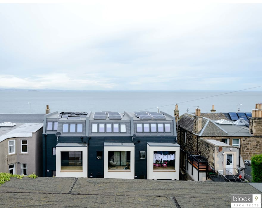 Seaview Terrace Modern houses by block 9 Architects Modern