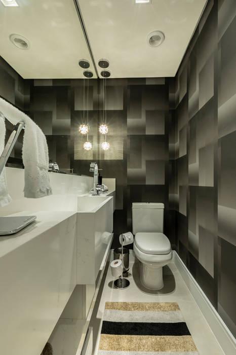 Lavabo TRIGO ARQUITETURA Banheiros modernos