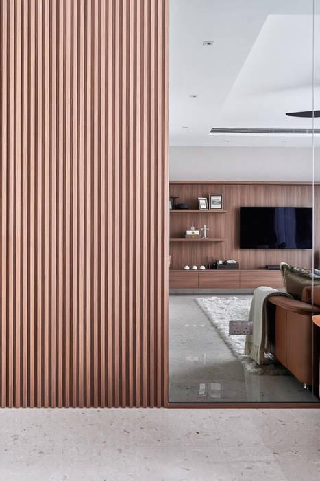Mr Shopper Studio | Landed Property | Cayman Residence | Living Room Modern living room by Mr Shopper Studio Pte Ltd Modern Wood Wood effect