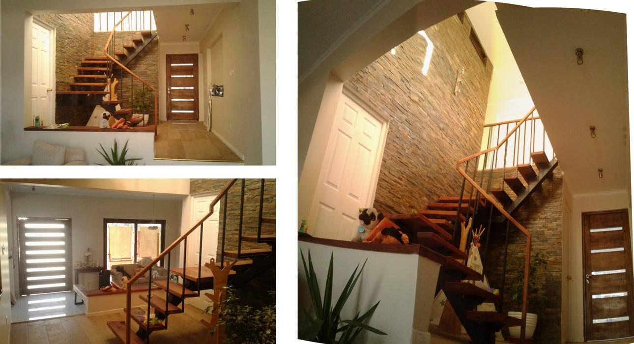 Casa Condell PG + Arq Casas de estilo mediterráneo Pizarra