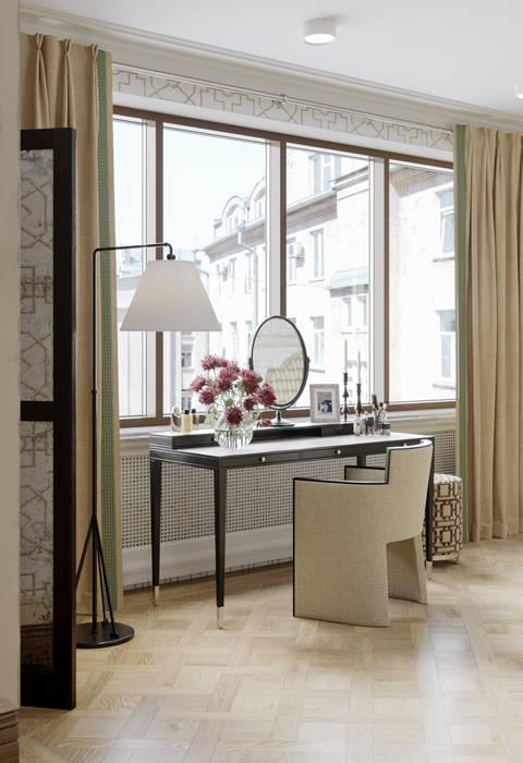 Хозяйская спальня в квартире в клубном доме в Depre. Спальня в классическом стиле от MARION STUDIO Классический