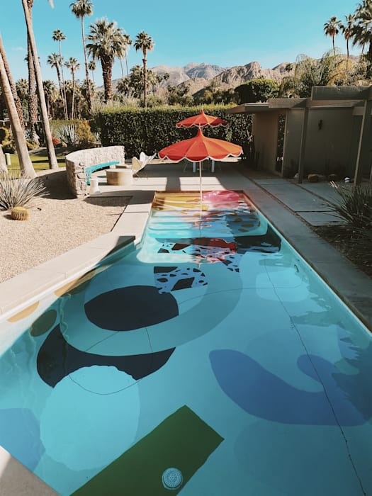 Pool Modern Pool by Bells + Whistles, INC Modern