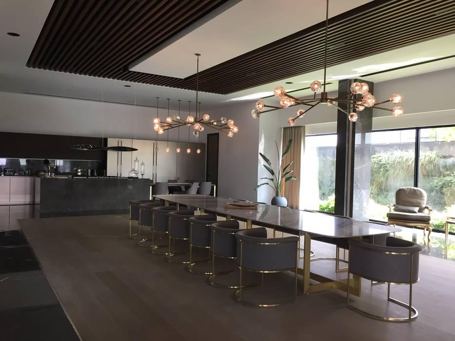 Istanbul Villa 3000 m2 Modern Yemek Odası Interno Home Modern