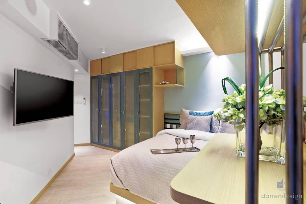 Main Bedroom Modern style bedroom by Darren Design & Associates 戴倫設計 Modern Wood Wood effect