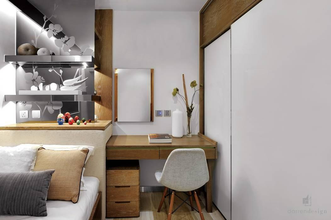 Master bedroom Modern style bedroom by Darren Design & Associates 戴倫設計 Modern