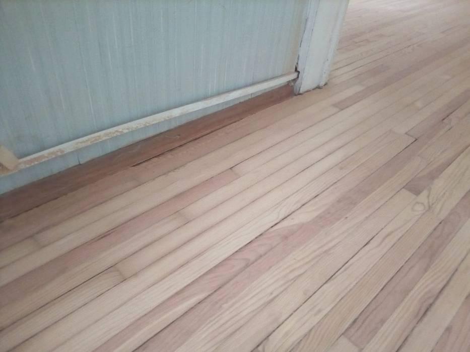 Trabajos recientes (pisos, persianas, etc.) de Decoración Integral Lindavista Moderno Madera Acabado en madera