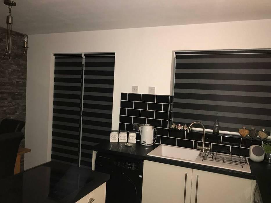 Vision Blinds Fitted Moonlite Blinds Ltd Modern style doors