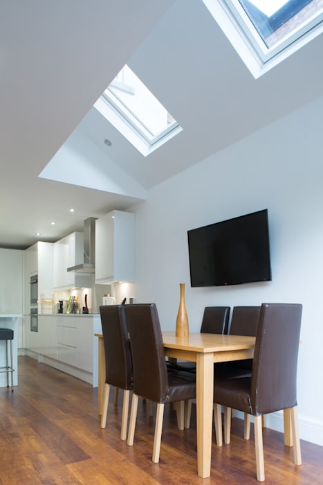 Ground Floor Extension Modern dining room by Pride Road Architects North Modern