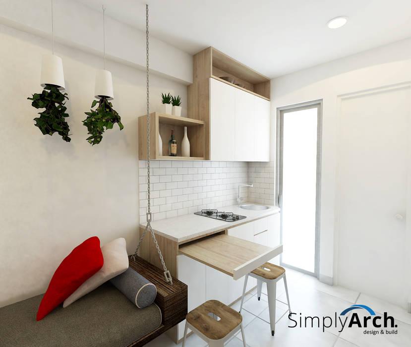 Dapur Simple Elegan Dapur Modern Oleh Simply Arch. Modern
