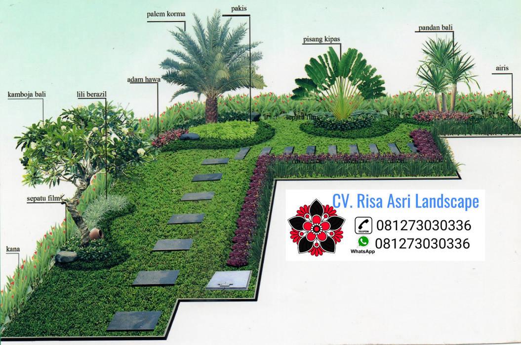 taman cv. risa asri landscape Taman Tropis Batu Kapur Brown