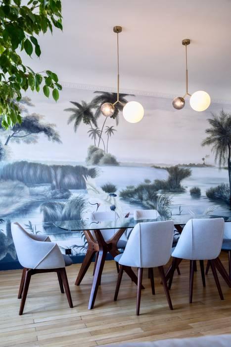 Paris - résidentiel Salle à manger classique par VSD / VERONICA SOLARI DESIGN Classique