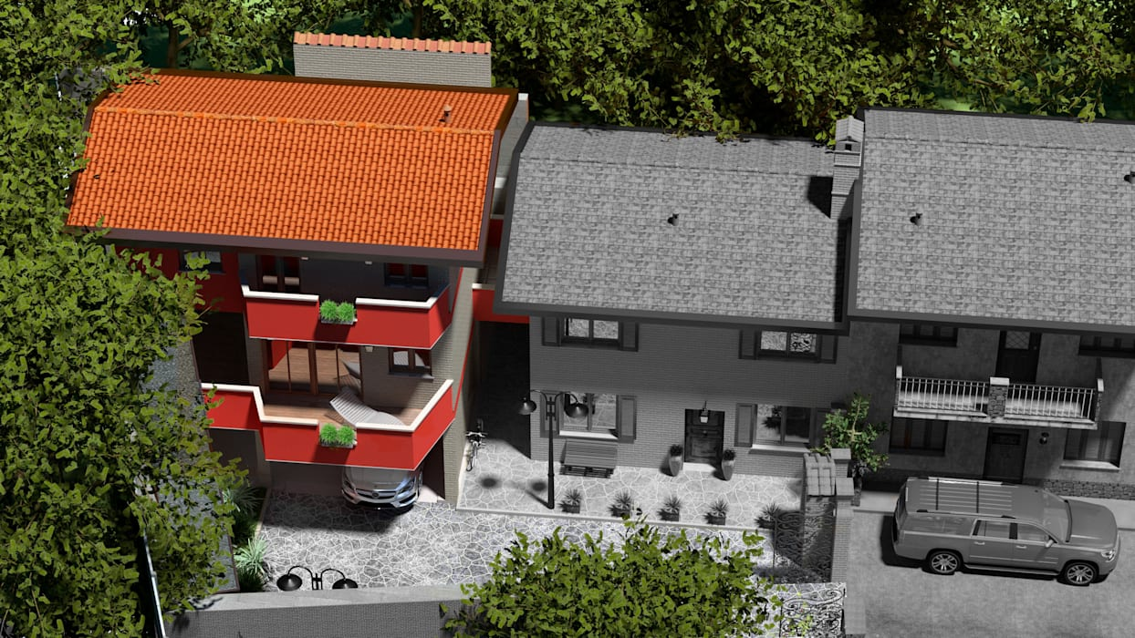 Villetta a Limbiate Fanchini Roberto architetto - Archifaro