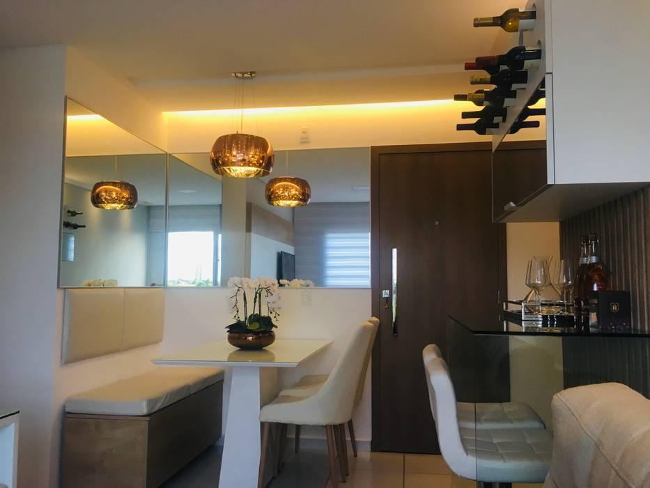 Su Ferreira Lima Interiores Ruang Makan Modern