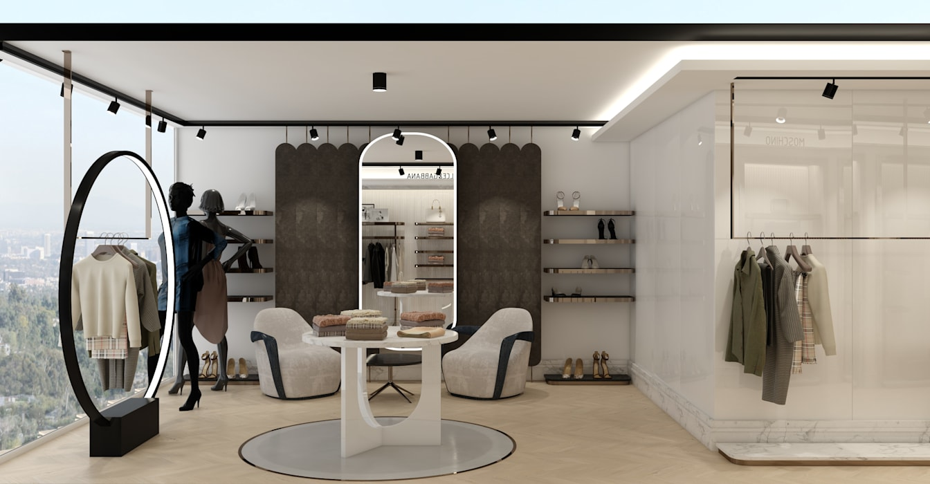 WALL INTERIOR DESIGN Offices & stores