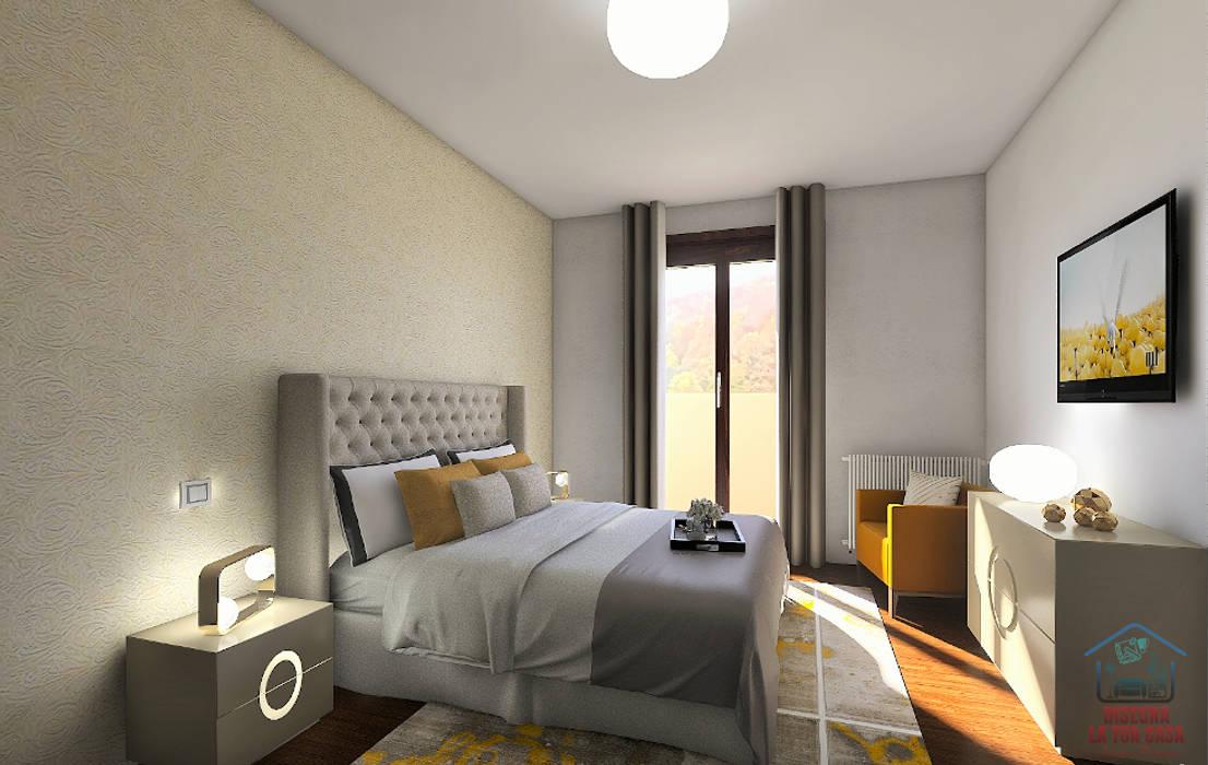 Progettazione Camera Padronale In Due Versioni Disegna La Tua Casa Camera Da Letto Moderna Homify