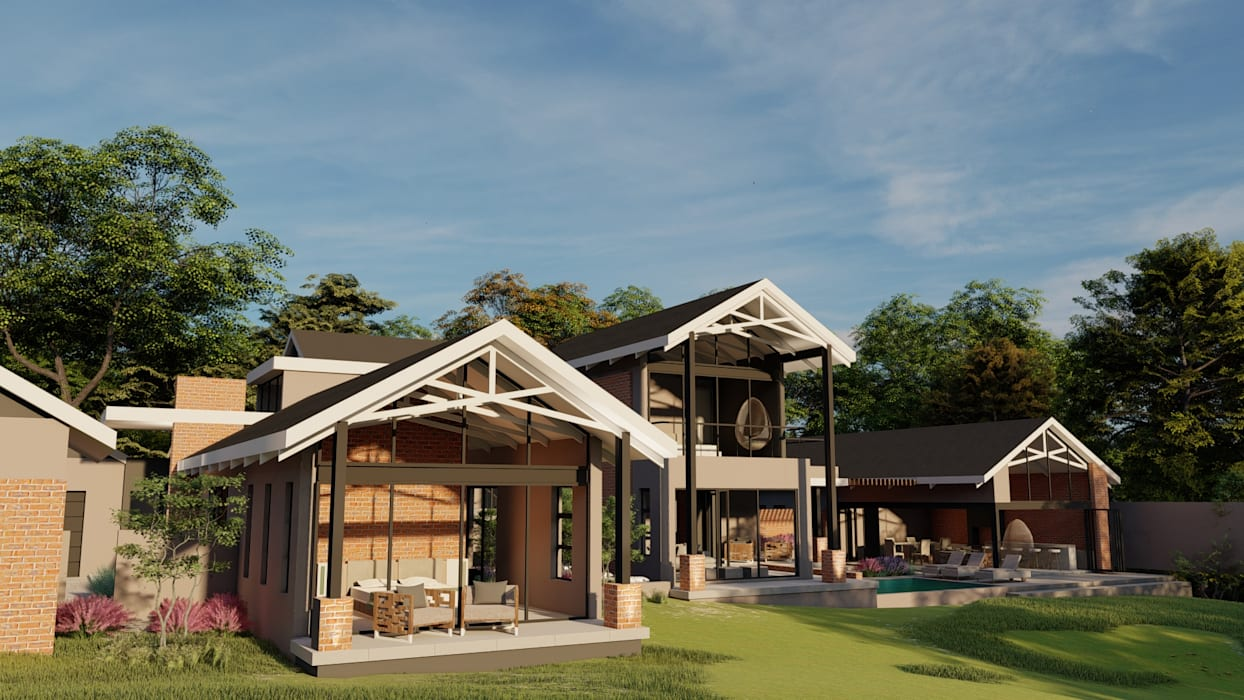 Farmstyle residence Modern houses by FRANCOIS MARAIS ARCHITECTS Modern