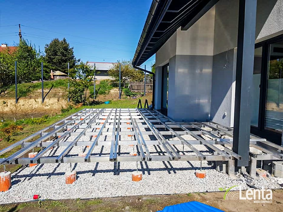 Taras na podkonstrukcji aluminiowej Lenta