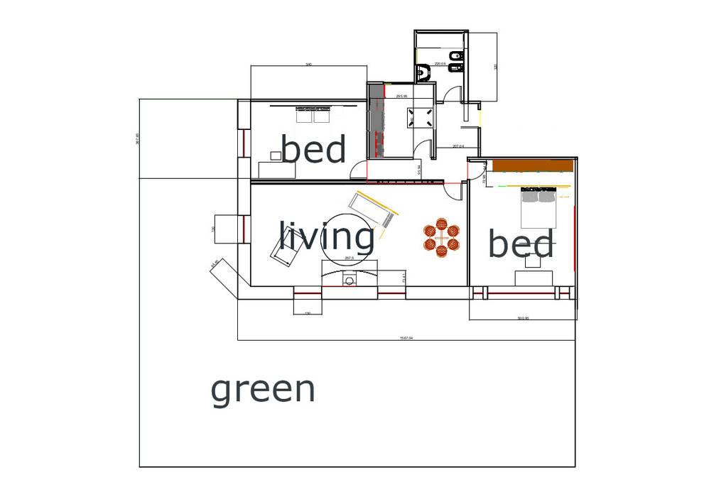 Casa Ideale Case in stile mediterraneo di Aetneas Design Mediterraneo