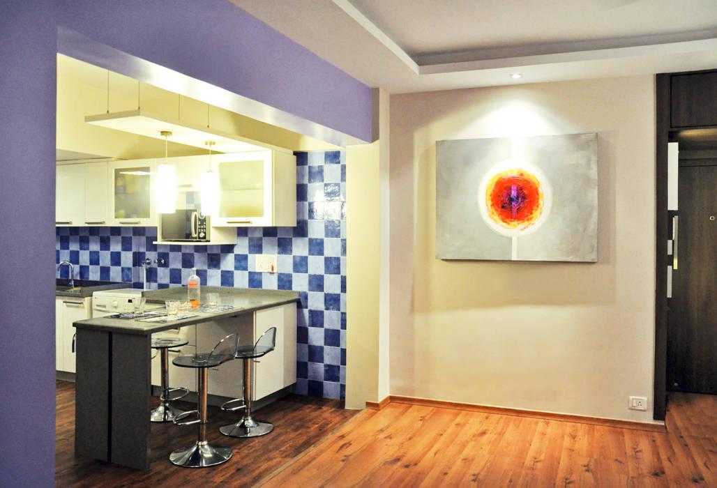Modern Kitchen by Dhruva Samal & Associates Modern