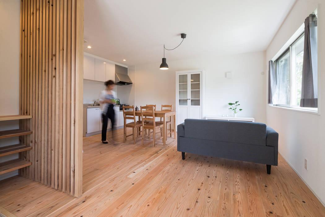 環アソシエイツ・高岸設計室 Asian style living room