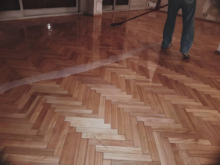 Finalización hidrolaqueado Pisos Elegantes Pisos Madera maciza Acabado en madera