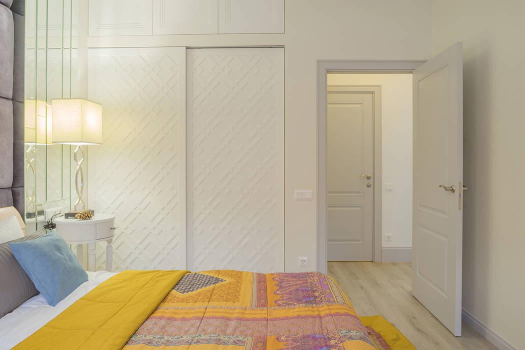 Двухкомнатная квартира в ЖК Премьер Палас InScale Спальня в классическом стиле