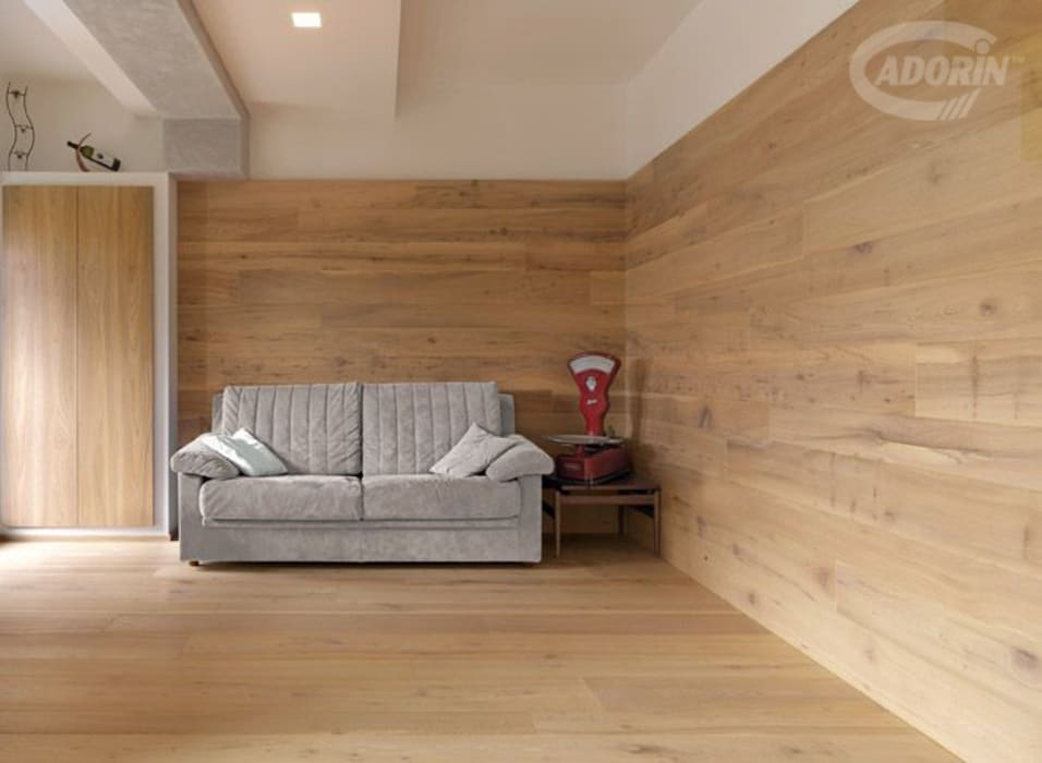 Olmo de Casera di Cadorin Group Srl - Italian craftsmanship Wood flooring and Coverings Moderno
