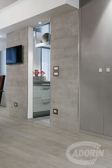 Cladding Turtledove Quercus di Cadorin Group Srl - Italian craftsmanship production Wood flooring and Coverings Moderno