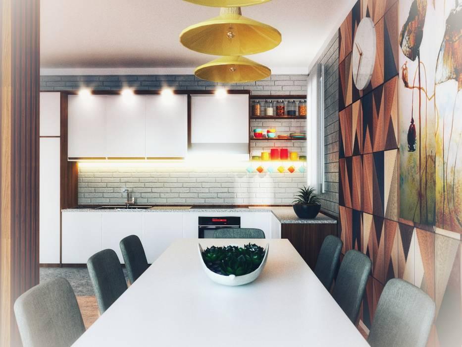 Fanchini Roberto architetto - Archifaro Modern dining room