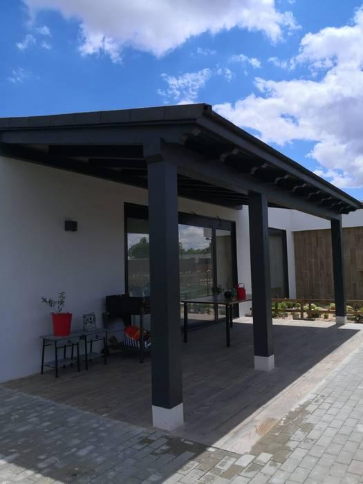 vista lateral izquierdo de Casa natural S.L. Moderno