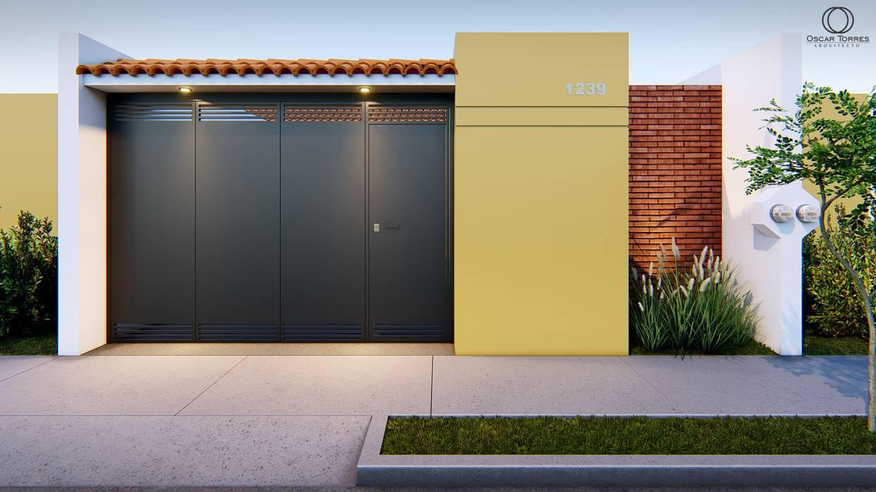Oscar Torres Arquitecto Rumah kecil Yellow