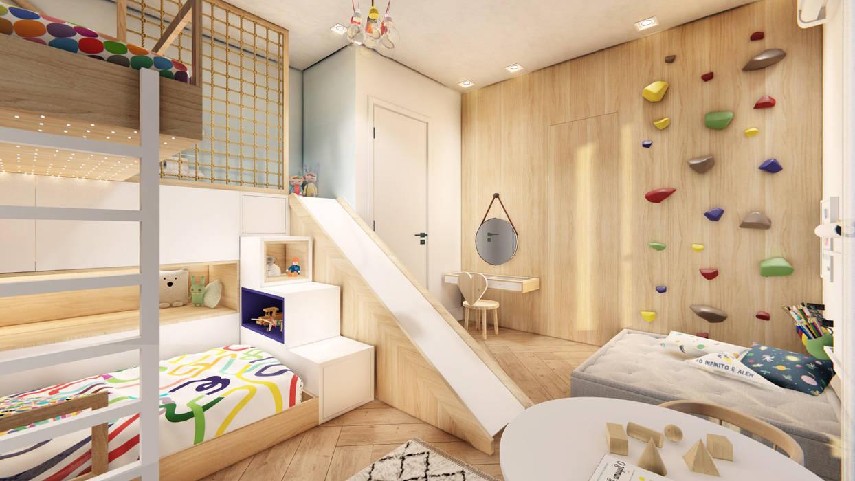 Studio Ideação Kamar Bayi/Anak Gaya Skandinavia