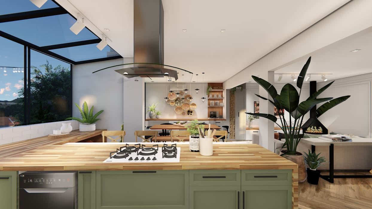 Studio Ideação Dapur Gaya Skandinavia
