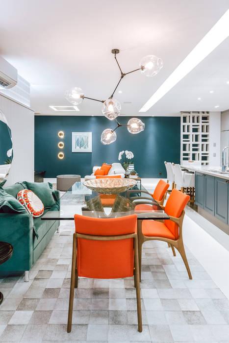 Jantar Salas de jantar modernas por STACH BORDIGNON ARQUITETURA Moderno