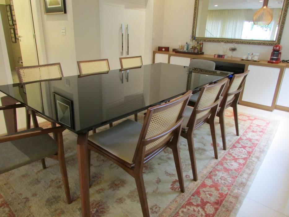 Sala de Jantar Salas de jantar modernas por FERNANDA SALLES ARQUITETURA Moderno
