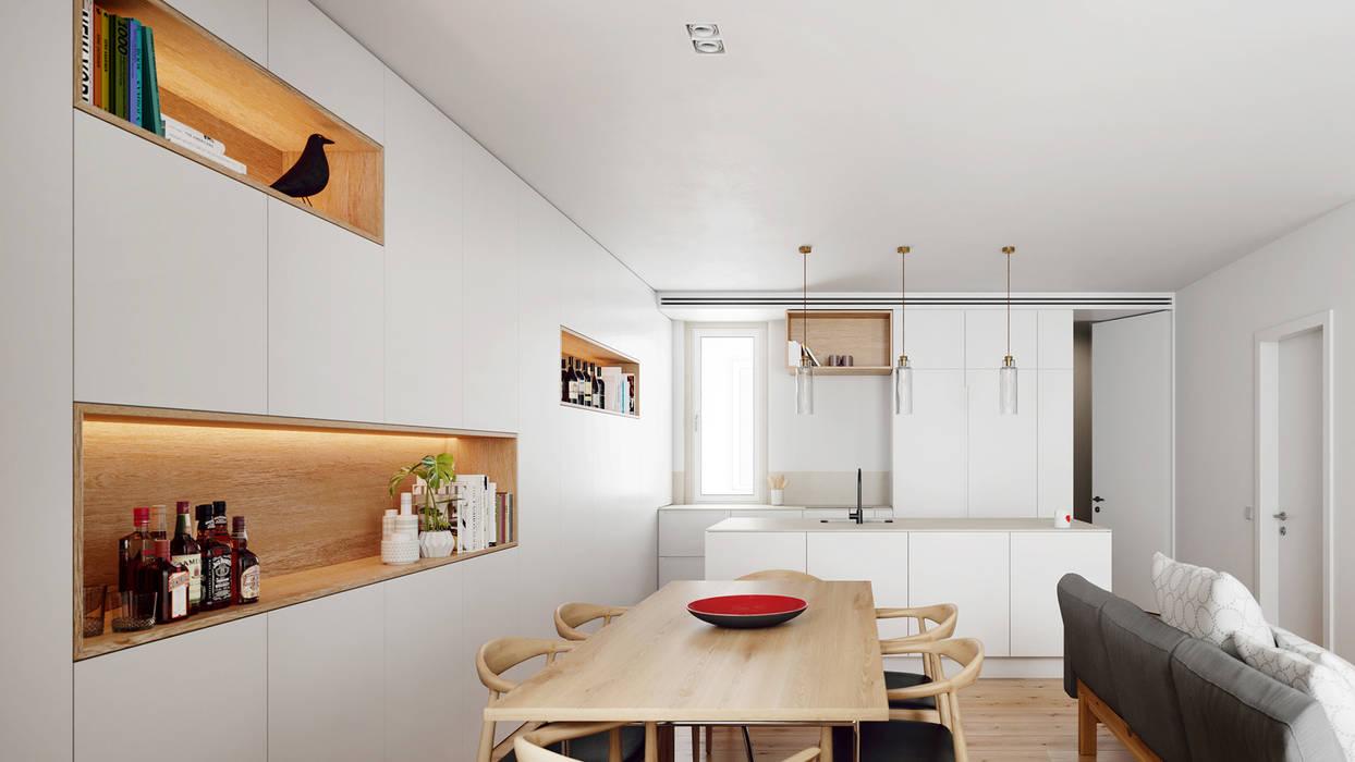Sala de Jantar | Dining Room Salas de jantar minimalistas por FMO ARCHITECTURE Minimalista