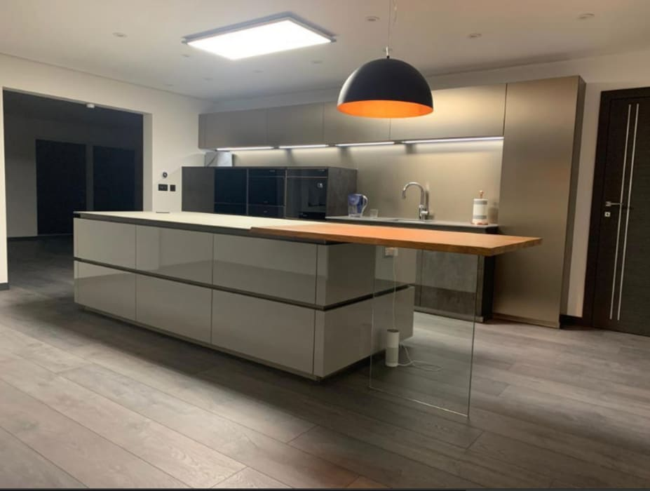 Contemporary 4 Bedroom Detached House, Burcot, Abingdon Abodde Luxury Homes Modern kitchen