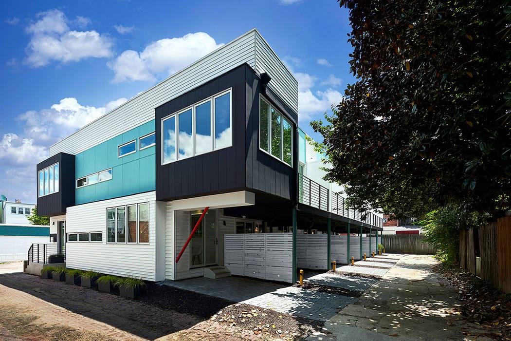 Case moderne di KUBE architecture Moderno