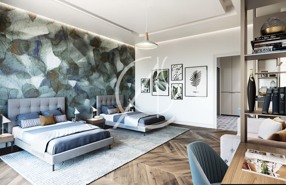 Comelite Architecture, Structure and Interior Design Chambre moderne