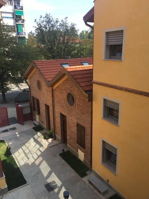 Ristrutturazione Milano - Appartamento NNBuilding Case in stile rustico