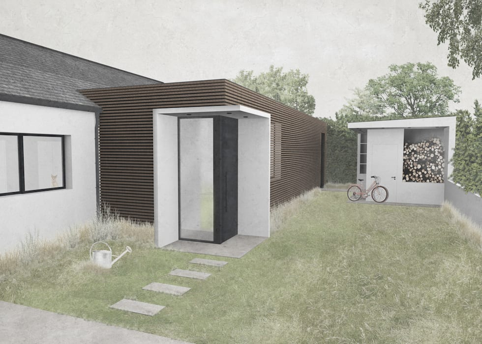 Perspective Léa Rudolf Architecte Maisons modernes