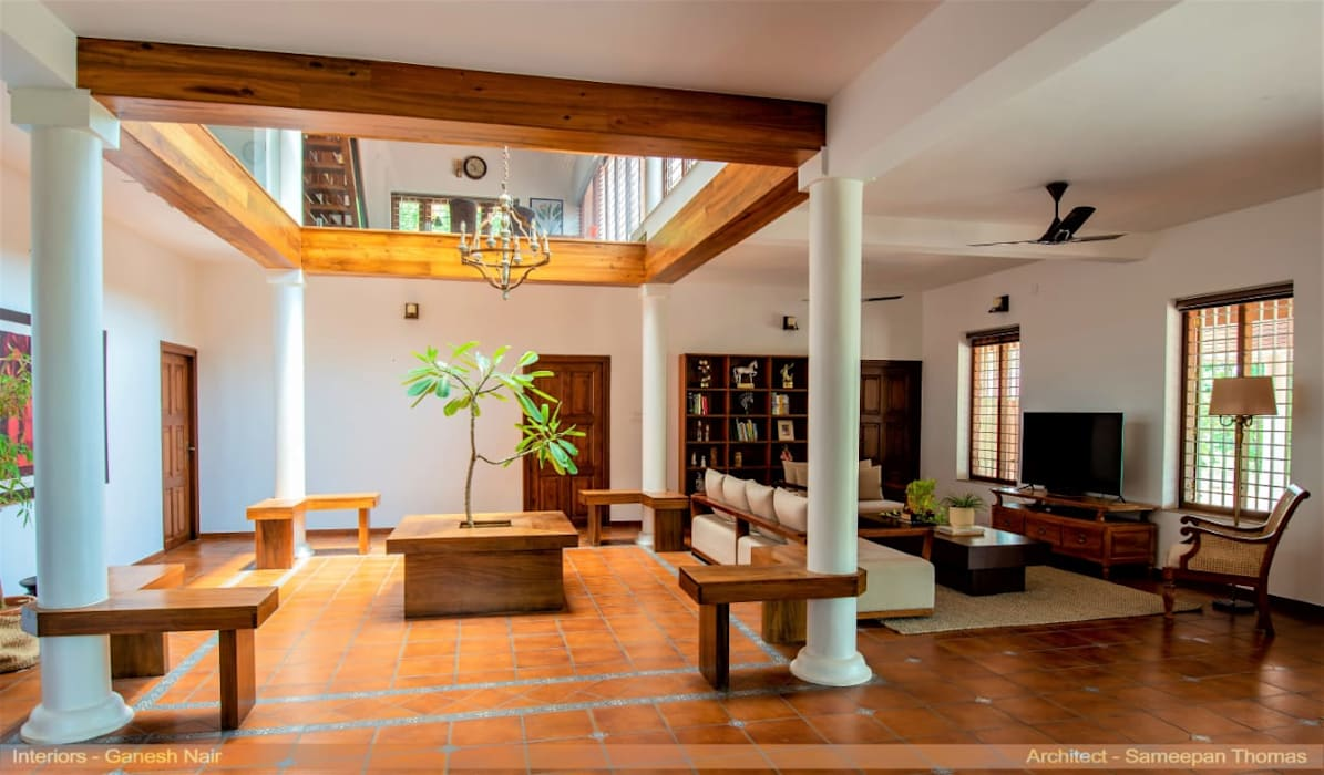 Villa de lujo revestida con Rodamanto, el clásico modelo de Gresmanc de Gresmanc Clásico Cerámico