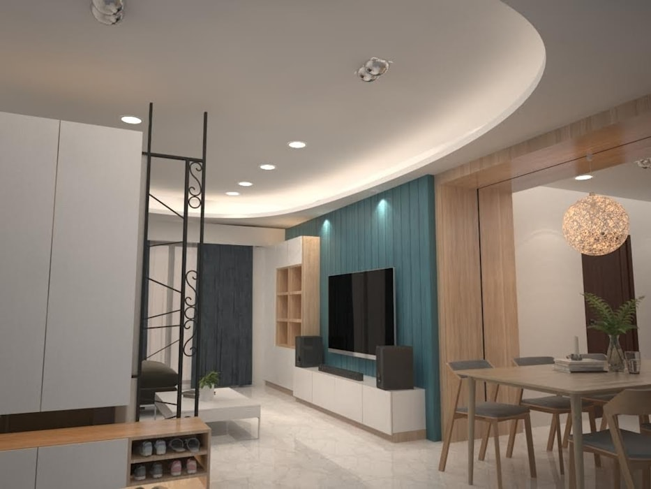 Residential 住宅設計 麥斯迪設計 客廳