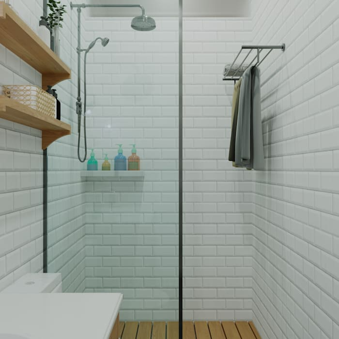 Hera House DiArsitekin Kamar Mandi Klasik Keramik White